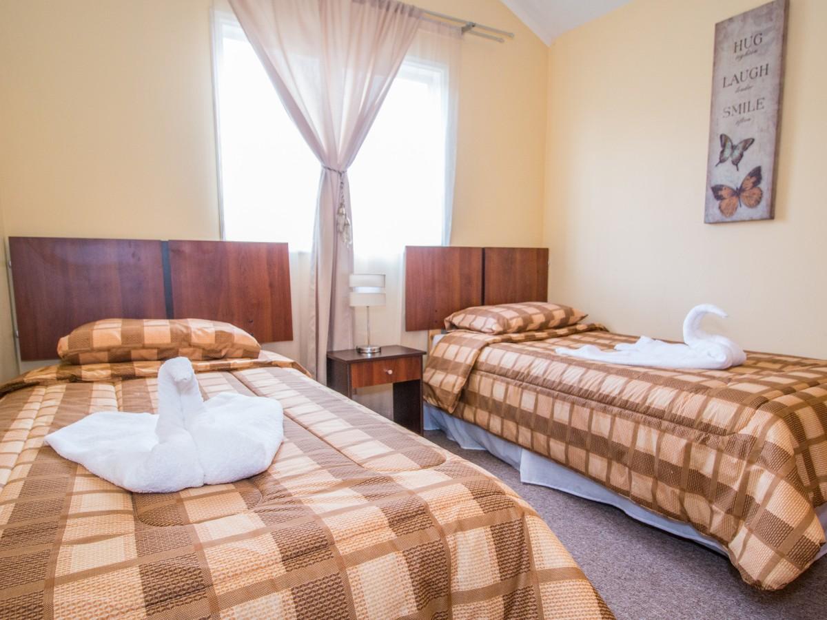 Cómodas y acogedoras habitaciones | Cabañas Miradores de Panitao