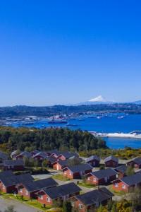 Hermosa vista a los volcanes | Cabañas Miradores de Panitao